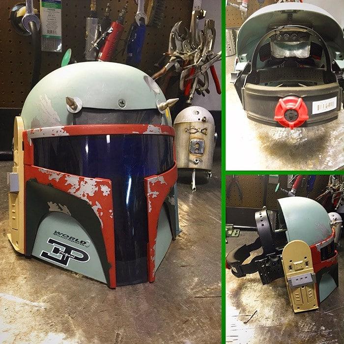 welding helmet Radroman