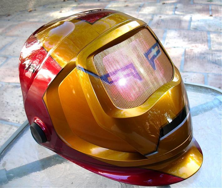 welding helmet by DRock