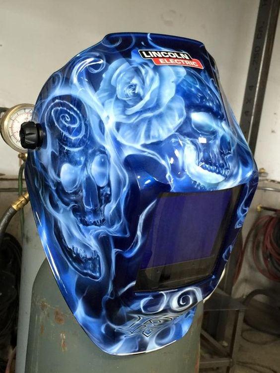 Killer Paint welding helmet
