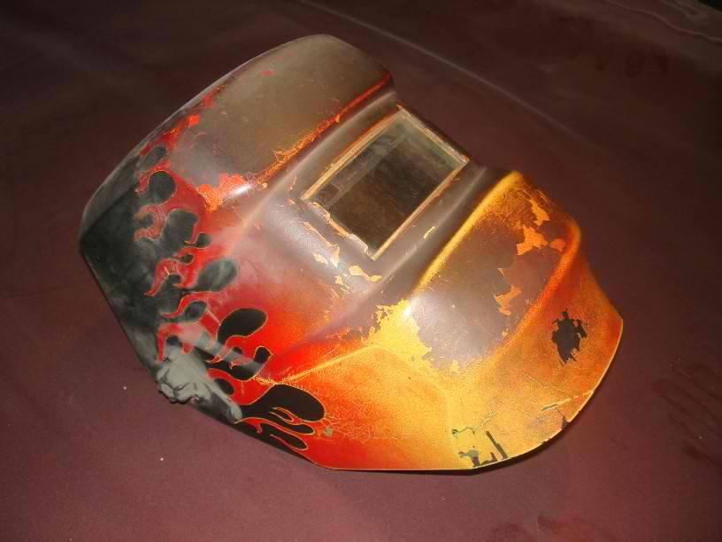 welding helmet by SWells