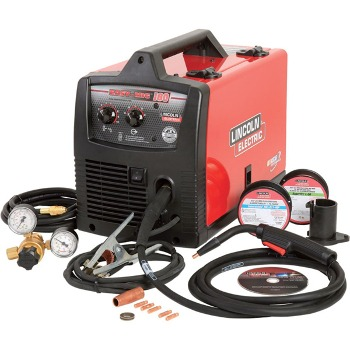 a MIG welder for auto body work