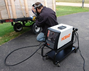 an inexpensive MIG-welding machine
