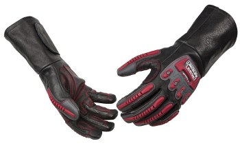 a welding glove (TIG, MIG, Stick)