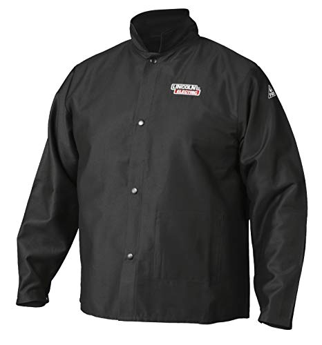 Lincoln Electric Premium Flame Resistant (FR) Cotton Welding Jacket | Comfortable