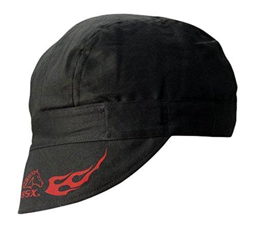 Revco Armor Cotton Welding Cap (C5W-BK)