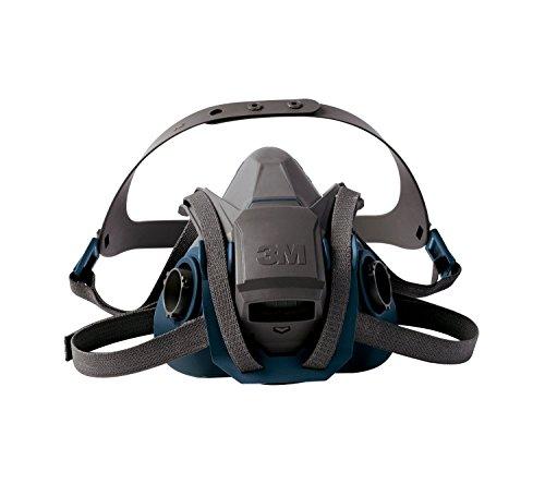 3M Rugged Comfort Half Facepiece Respirator (6501QL/49488)