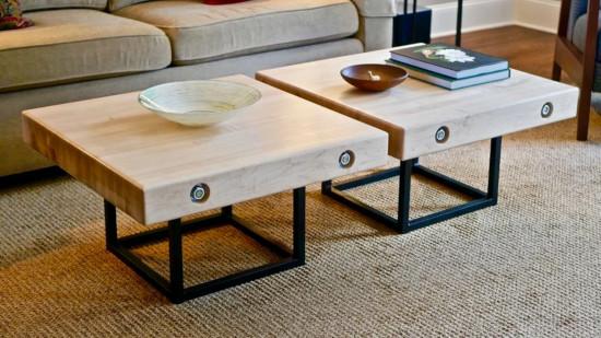 Unique Square Coffee Table
