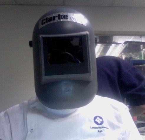 passive welding helmet