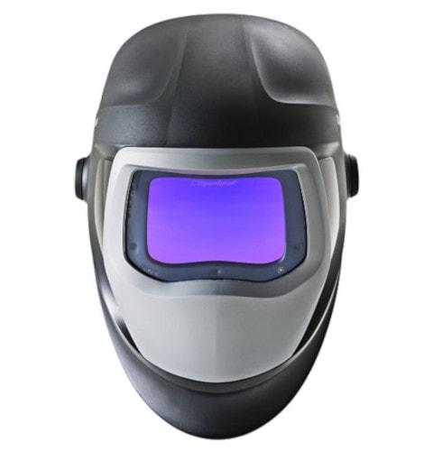 solar-powered lens helmet