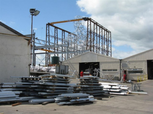 steel construction fabricating