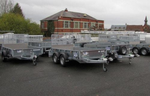 trailer's parking