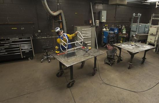 welding garage