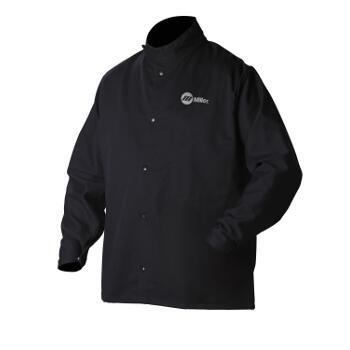 Miller Electric 2241909 Welding Jacket, Navy, Cotton/Nylon