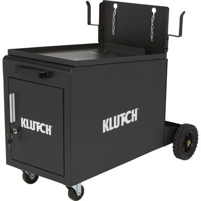 Klutch Compact Locking Welding Cabinet