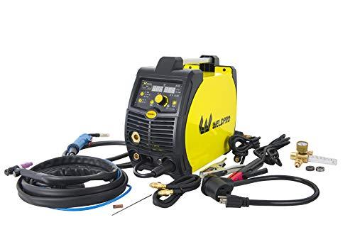 Weldpro 200 Amp Inverter Multi-Process Welder with Dual Voltage 220V/110V Mig/Tig/Arc Stick 3 1 welder/welding machine