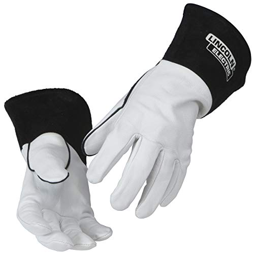 Lincoln Electric Grain Leather TIG Welding Gloves | High Dexterity