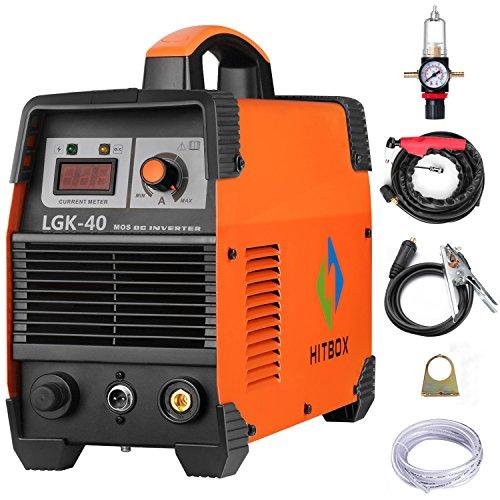 HITBOX Plasma Cutter 40A 220V Electric DC Inverter Air Plasma Cutting Machine