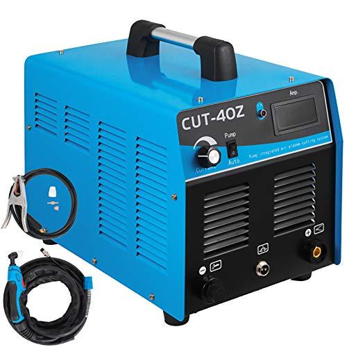 Mophorn 40 Amp Plasma Cutter with Built-In Air Compressor 220V Portable Plasma Welder Plasma Cutting Machine IGBT Inverter Digital Plasma Welding Machine