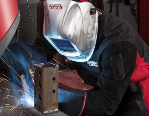 a welding jacket