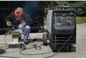 an engine-driven welder-generator