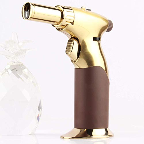 InZaynity Luxury Single Hand All Adjustable Power Butane Blow Torch