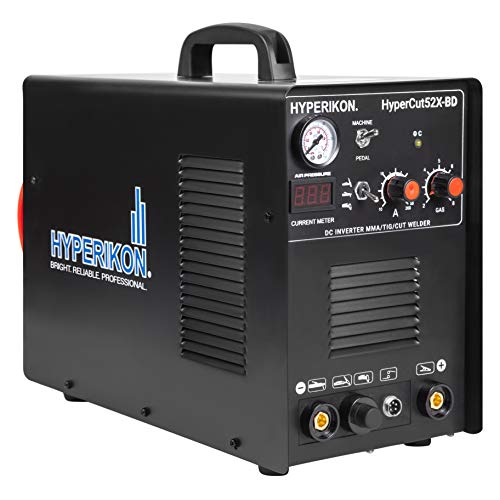 Hyperikon 3 in 1 TIG Welder, Plasma Cutter, IGBT Inverter, 120V 240V Dual Voltage