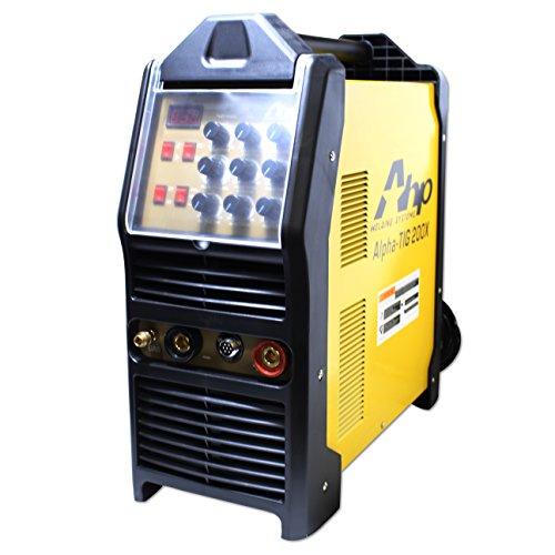 AHP AlphaTIG 200X 200 Amp IGBT AC DC Tig/Stick Welder with PULSE 110v 220v