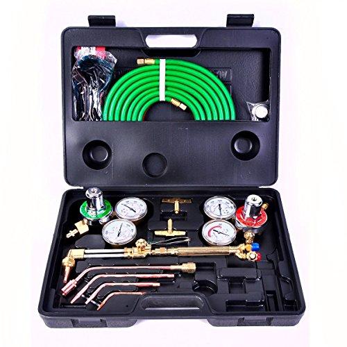 Toolsempire Gas Welding & Cutting Kit Oxygen Torch Acetylene Welder Victor Type Tool Set