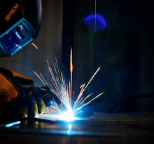 a welder for sheet metal