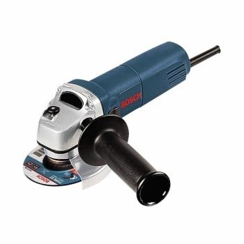 An angle grinder