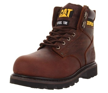 Steel toe welding boots