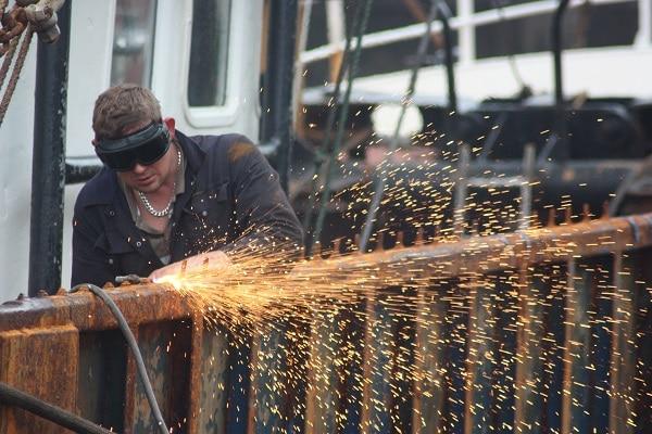 Industrial Shutdown Welding