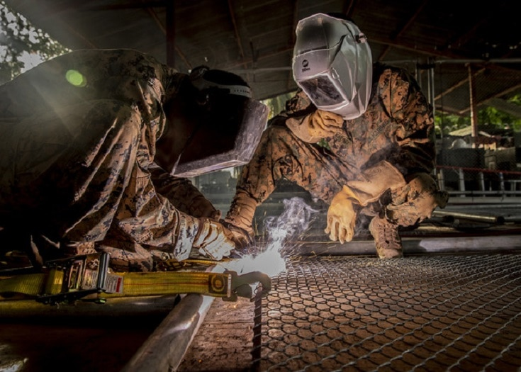 Military Support Welders