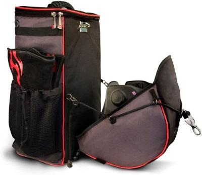 A welding backpack