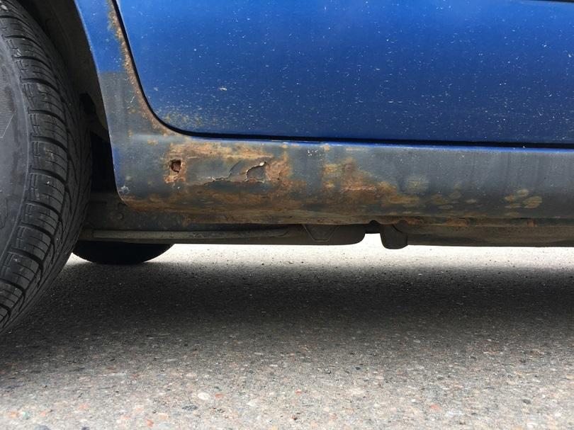 Corroded-car-underside