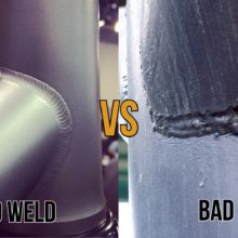Good weld vs Bad Weld
