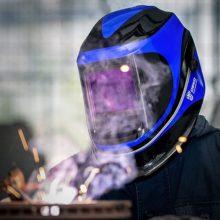 Solar Powered Welding Helmet Auto Darkening Professional Hood