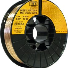 INEFIL ER70S-6 .030-Inch on 10-Pound Spool Carbon Steel Mig Solid Welding Wire