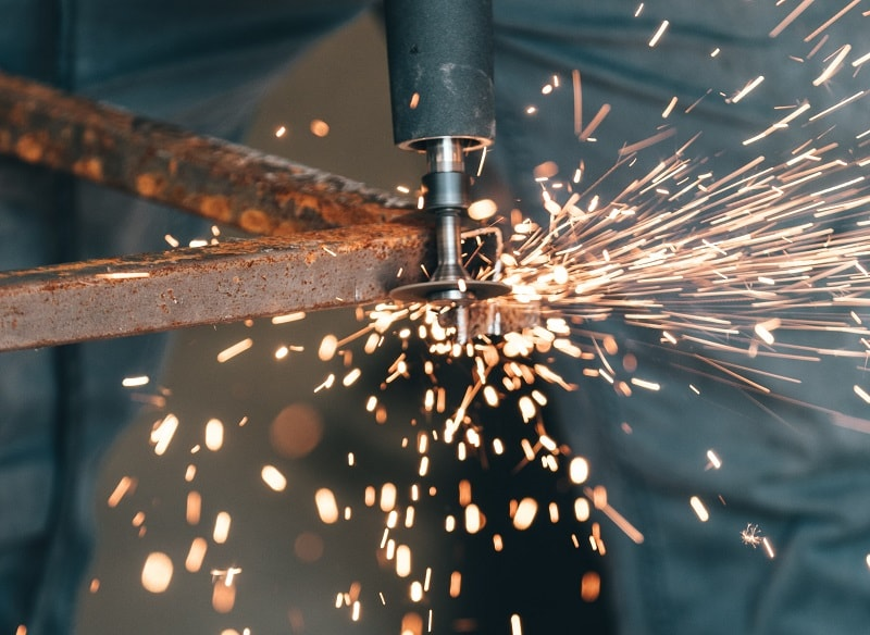 Forge Welding Close Up
