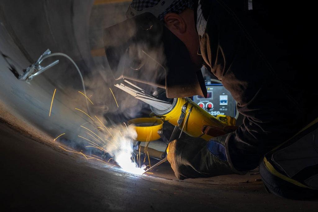 MMA welding
