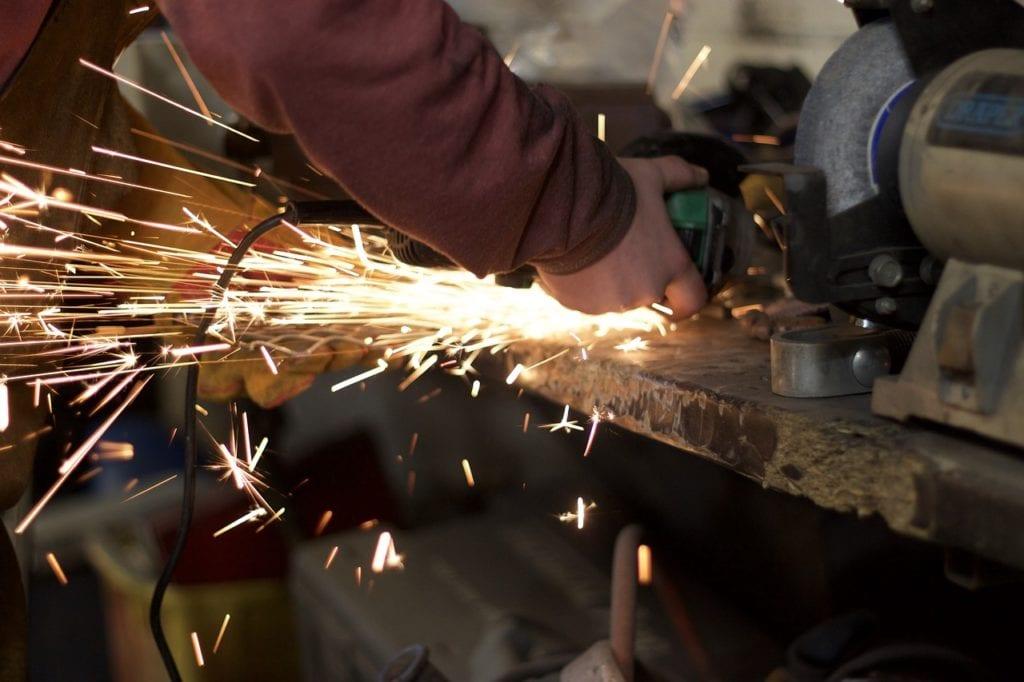 grinding weld