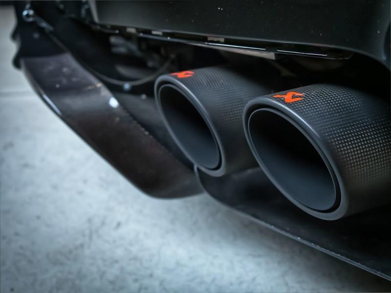 sports car muffler