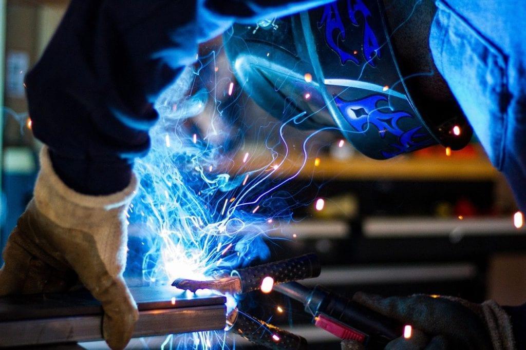 welding close up