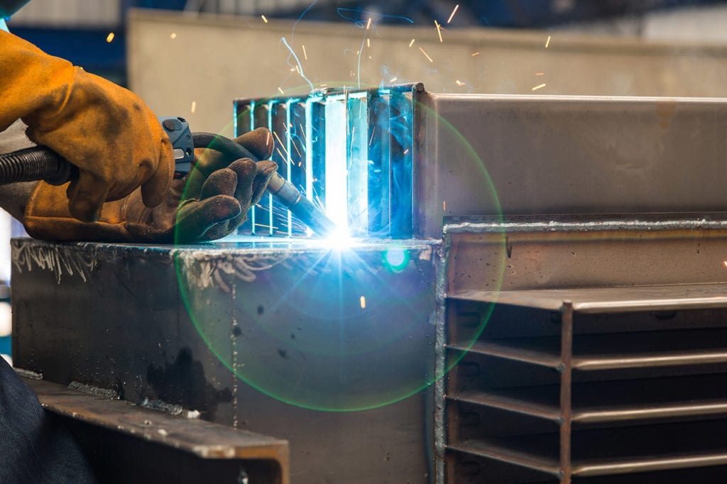 Gas metal arc welding or GMAW