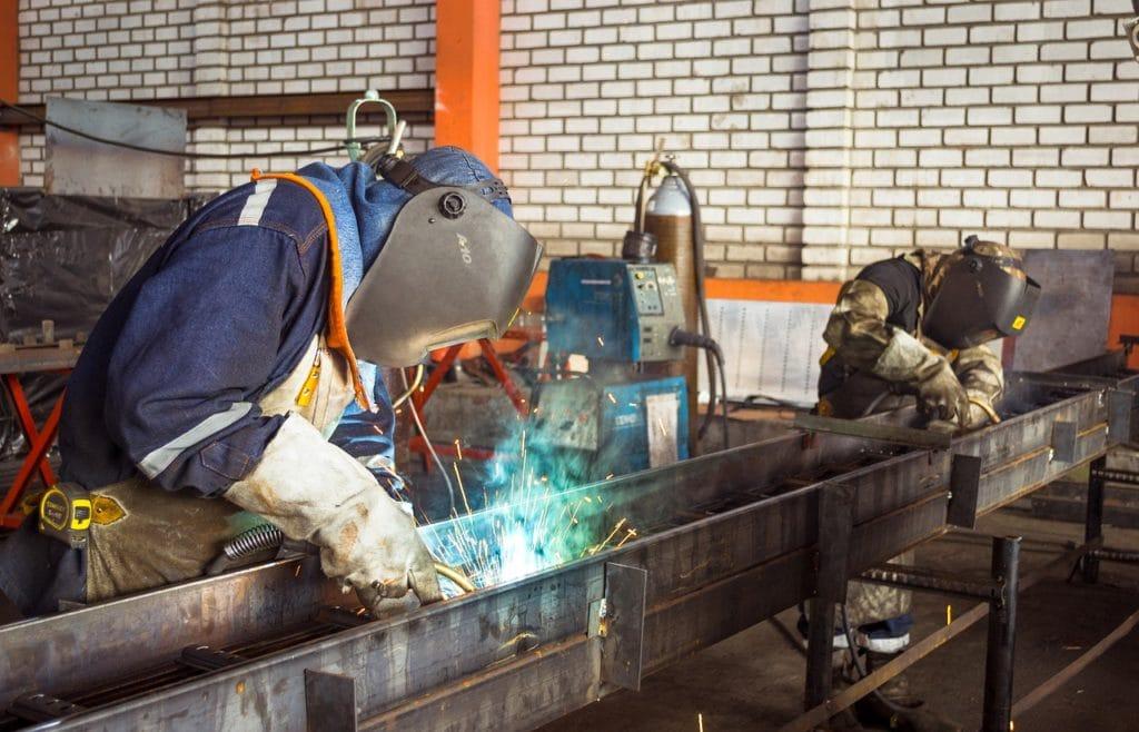 welders at work